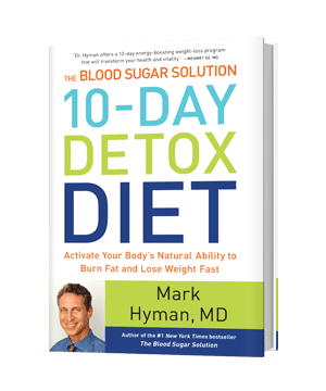 Another photo of the 10-Day Detox Diet book